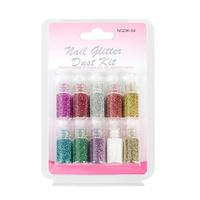 Nail Glitter Dust Kit NGDK04 10pcs
