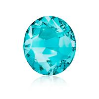 Nail Crystals SWAROVSKI A 2058 Xilion Rose Enhanced SS10 Blue Zircon 40/1