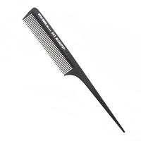 Češalj za kosu antistatički KIEPE Active Carbon 503 Crni