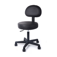 Cosmetic Stool MS01 with Backrest and Adjustable Height