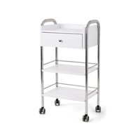 Cosmetic trolley DP6003 with three shelves and one drawer