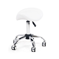 Cosmetic Stool Y1013 with Adjustable Height and Anatomically Seat