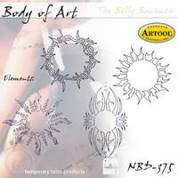 Body Art Stencils The Belly Bonanza