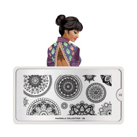 Stamping Nail Art Image Plate MOYOU Mandala 02