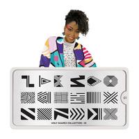 Stamping Nail Art Image Plate MOYOU Holy Shapes 01