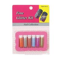 Fine Glitter Kit FIN01 6pcs