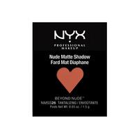 Mono mat senka za oči - refil NYX Professional Makeup Nude Matte Pro NMSS 1.5g