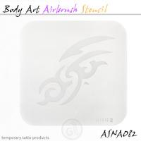 Body Art Stencils ASN-BMA-A082
