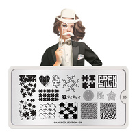 Stamping Nail Art Image Plate MOYOU Games 05