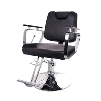 Hair Styling Chair with Hydraulic Y-199 with Adjustable Backrest and Headrest