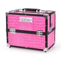 Beauty case for tools and accessories GALAXY TC-3201HPC pink