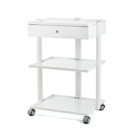 Cosmetic trolley DP6037A with three shelves and one drawer